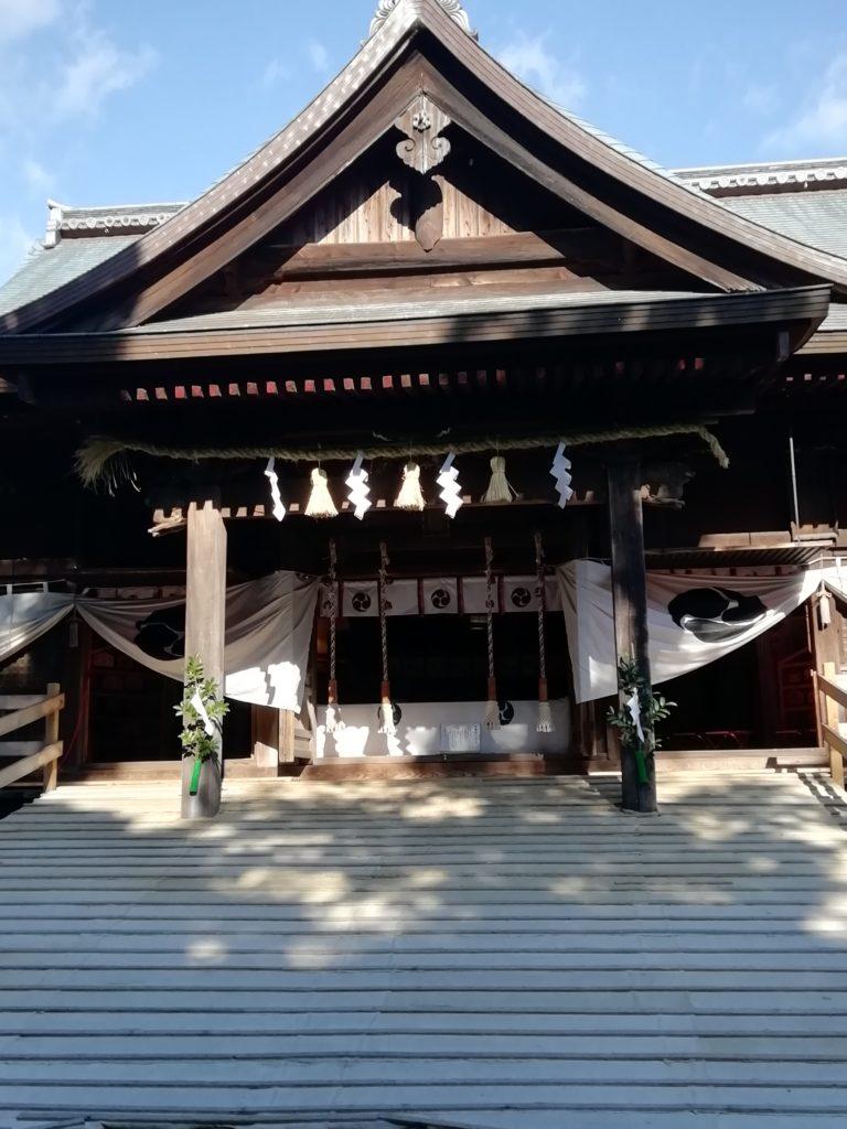 府八幡宮 磐田の初詣は楽しみいっぱい!お守りか絵馬それとも開運だんご!