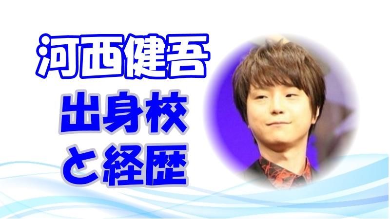 河西健吾 声優のきっかけと出身高校!経歴とキャラも調査